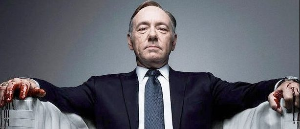 Kevin Spacey as Frank Underwood on 'House of Cards.'