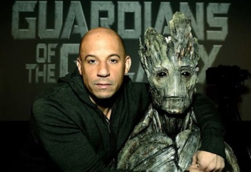 Vin Diesel's voice was a lot more recognizable as the adult Groot in the first 'Guardians of the Galaxy'. (Marvel)