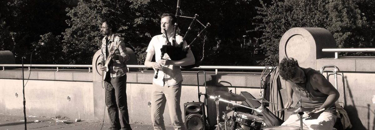 Are the Spinning Blowfish the World's Best Busking Band?