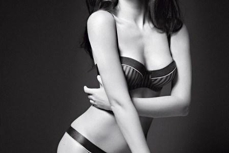 Megan Fox Models Own Lingerie Line