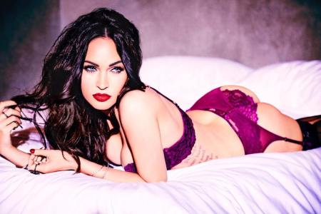 Megan Fox Poses in Fredericks of Hollywood Lingerie on Instagram