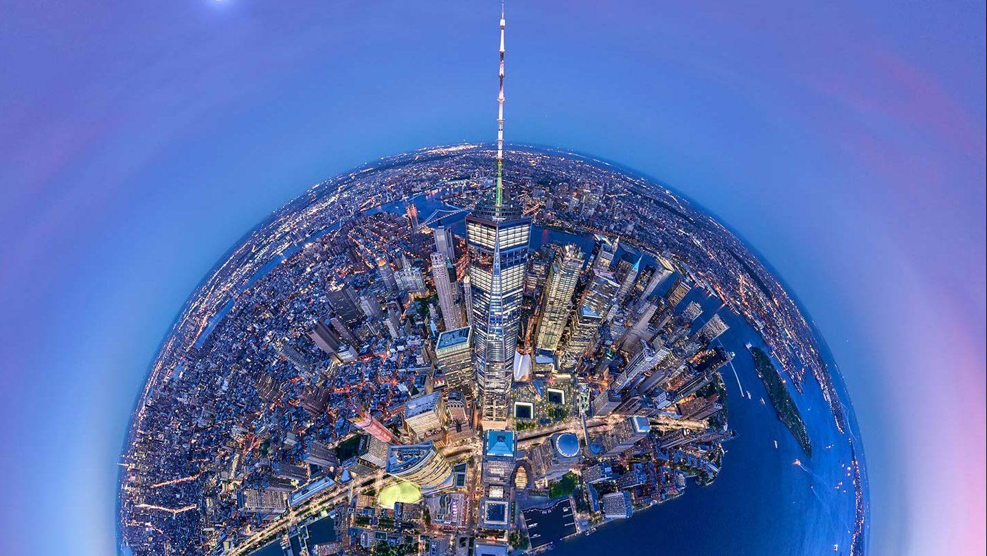 New York City Aerial photo