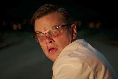 Matt Damon in Suburbicon, directed by George Clooney.