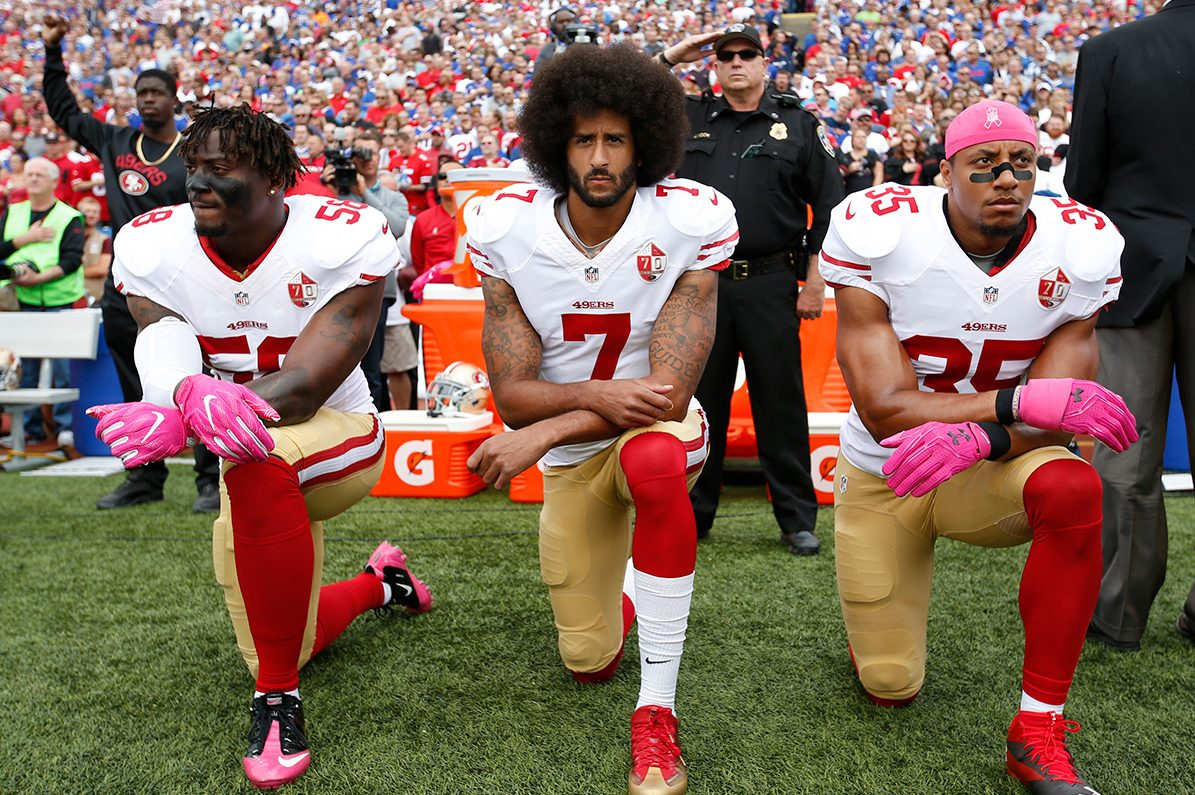 Report: Russian Trolls Provoked Kaepernick/Anthem Debate As Late as 2018