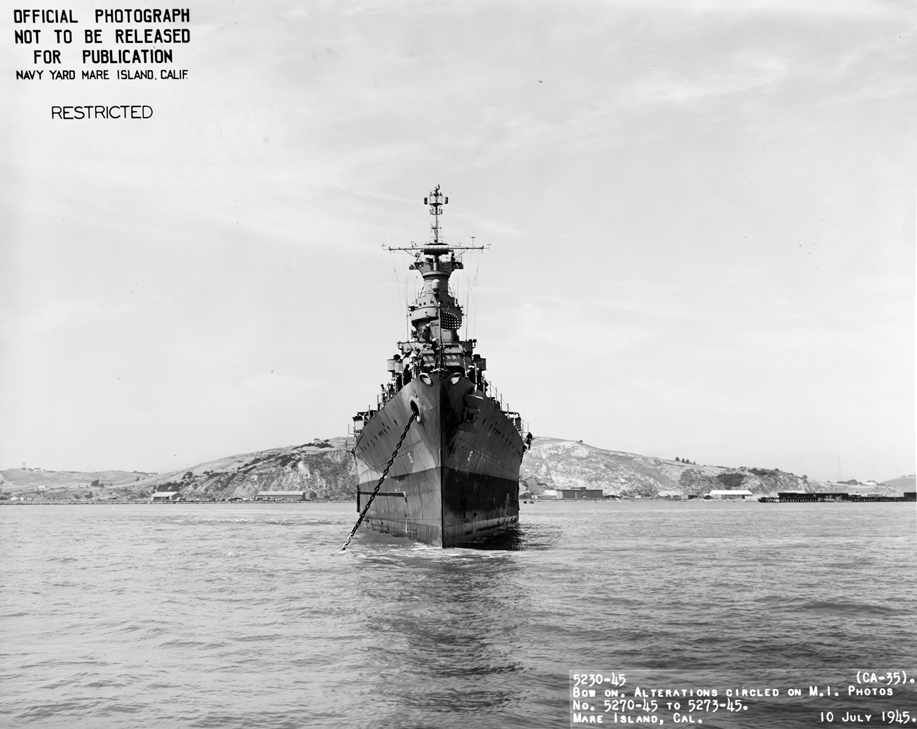 Wreckage of the USS Indianapolis Discovered