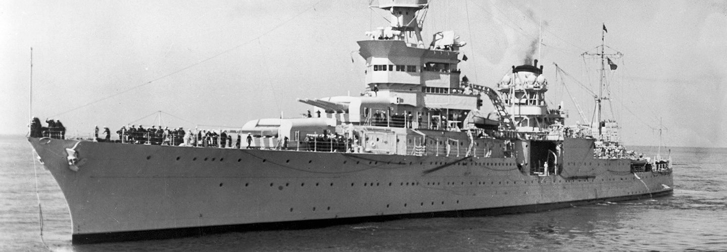 Wreckage of USS Indianapolis Discovered in Philippine Sea