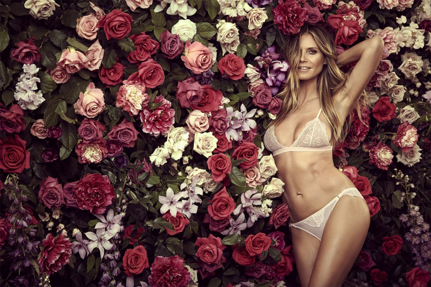 hot-selling cheap best selection of 2019 good service Heidi Klum Does Sexy Photo Shoot for New Intimates ...