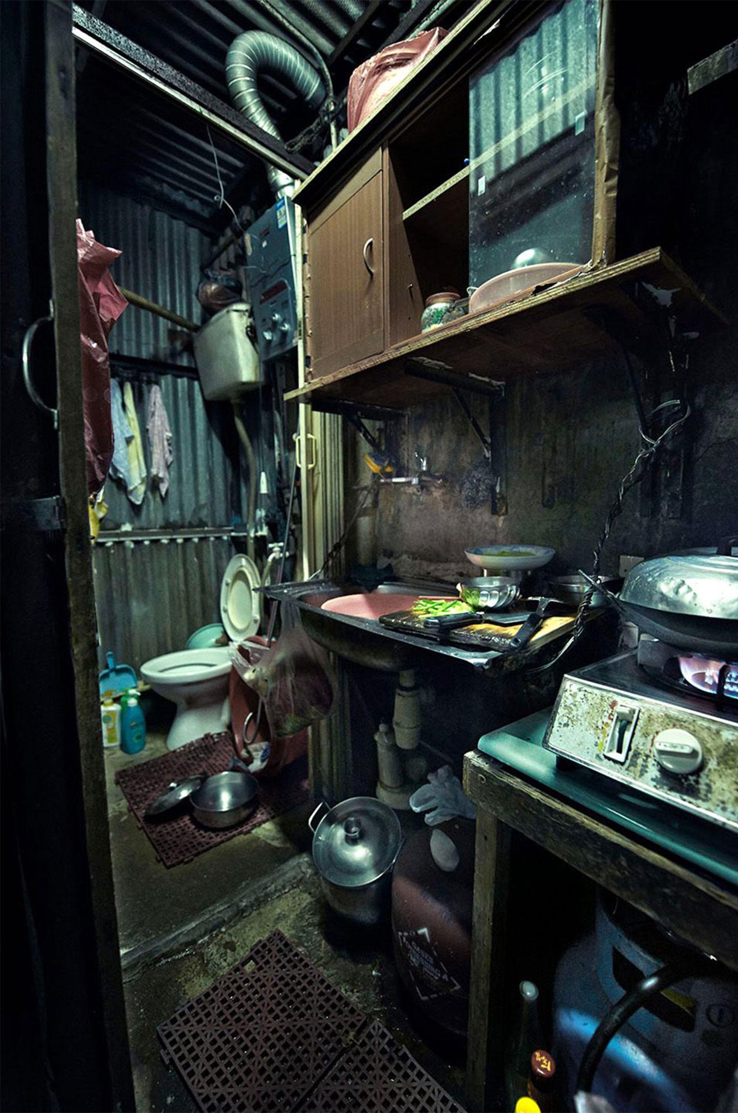 Hong Kong Coffin Homes