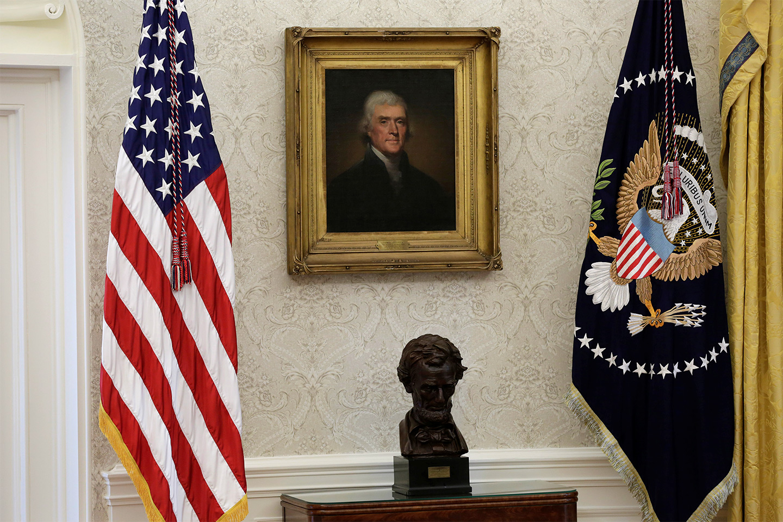 White House Renovation photos