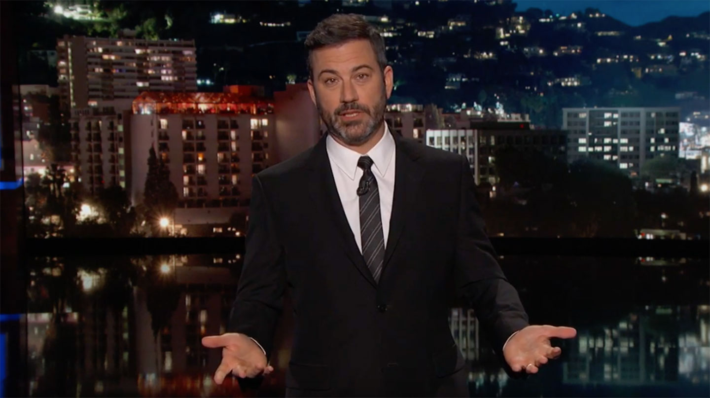 Jimmy Kimmel on Sept. 26, 2017 (YouTube)