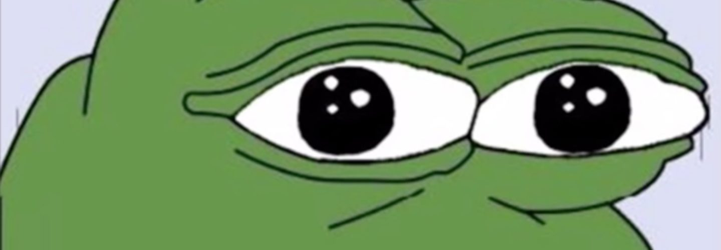 Pepe the Frog. Wikimedia Commons.