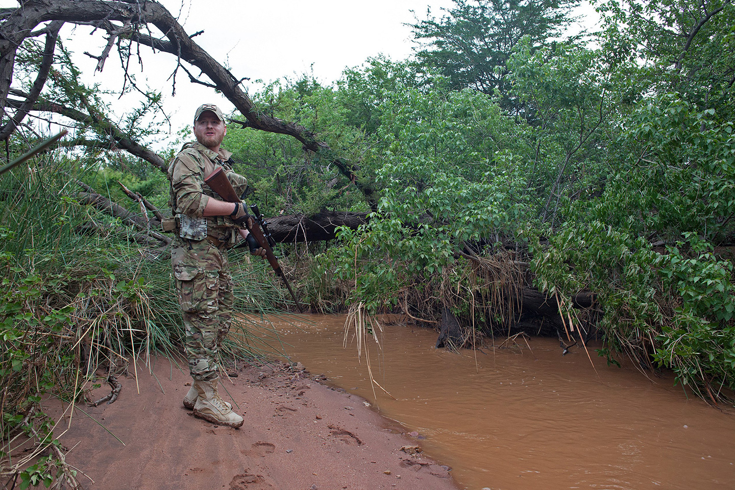Meet Ryan Tate, the Ex-Marine Who's Fighting African Poachers, One Tusk at a Time