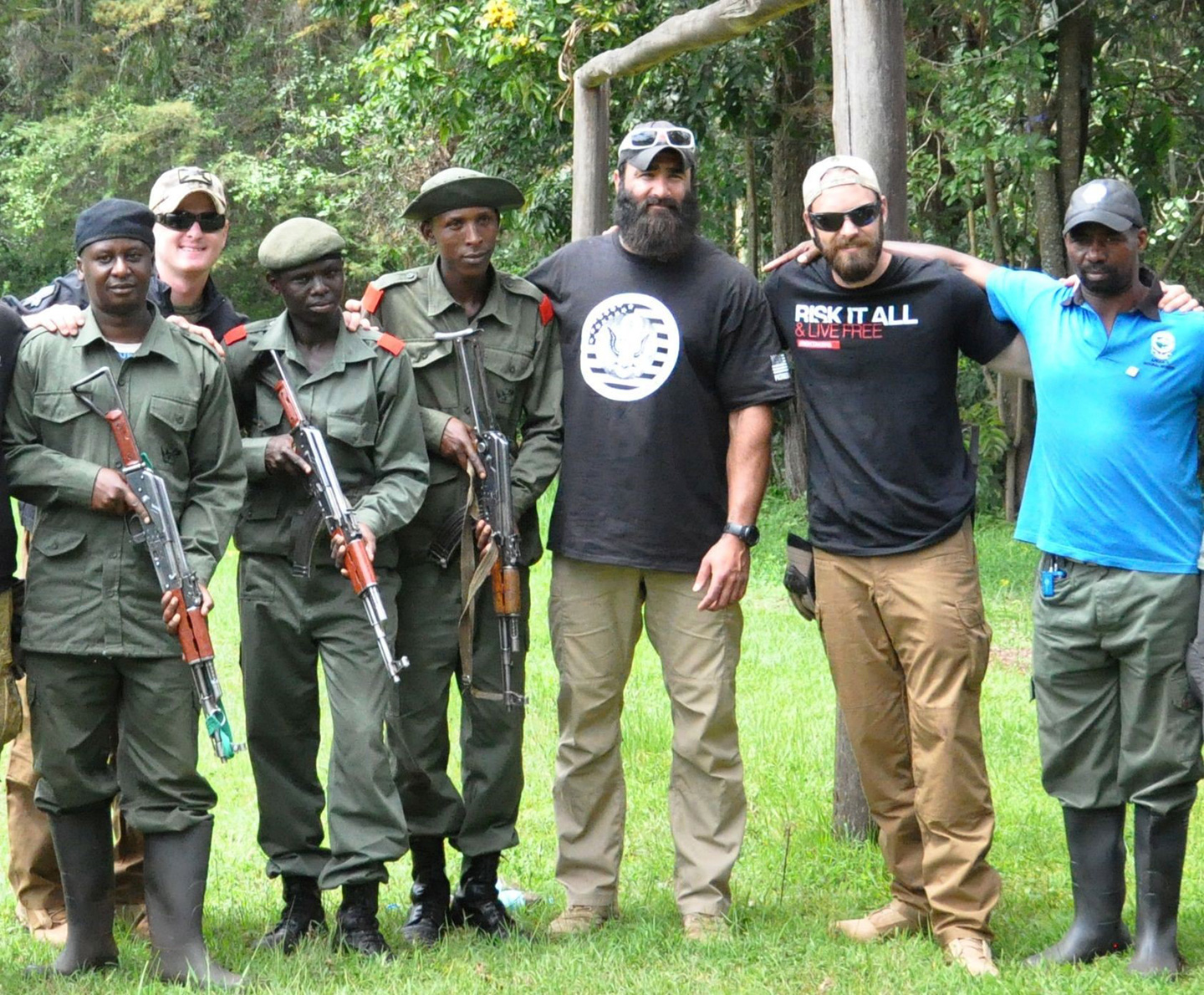 Meet Ryan Tate, the Ex-Marine Fighting African Poachers One Tusk at a Time