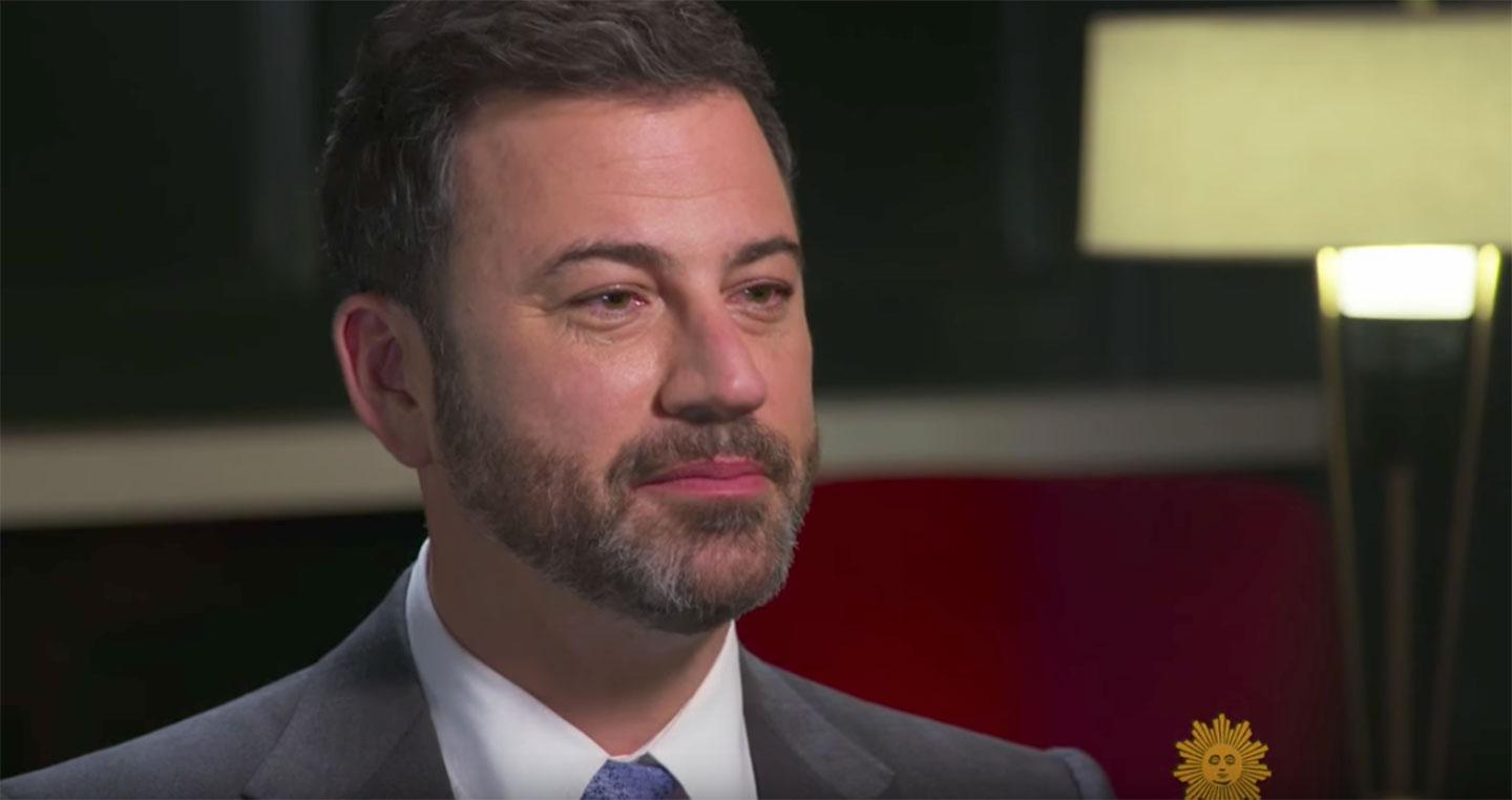 Jimmy Kimmel on CBS Sunday Morning. (YouTube/Screengrab)