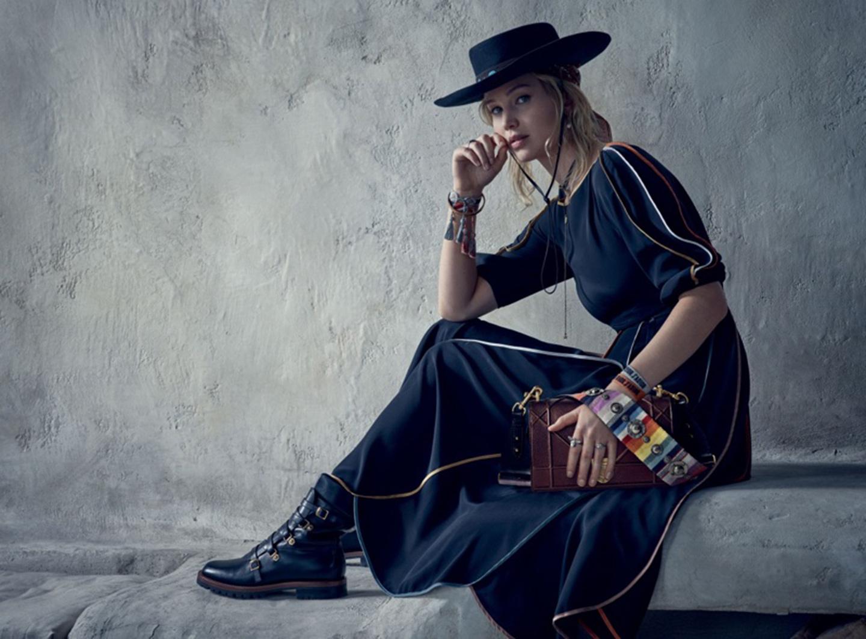 57cf247c85 Jennifer Lawrence Stars in Christian Dior's New Ad Campaign - InsideHook