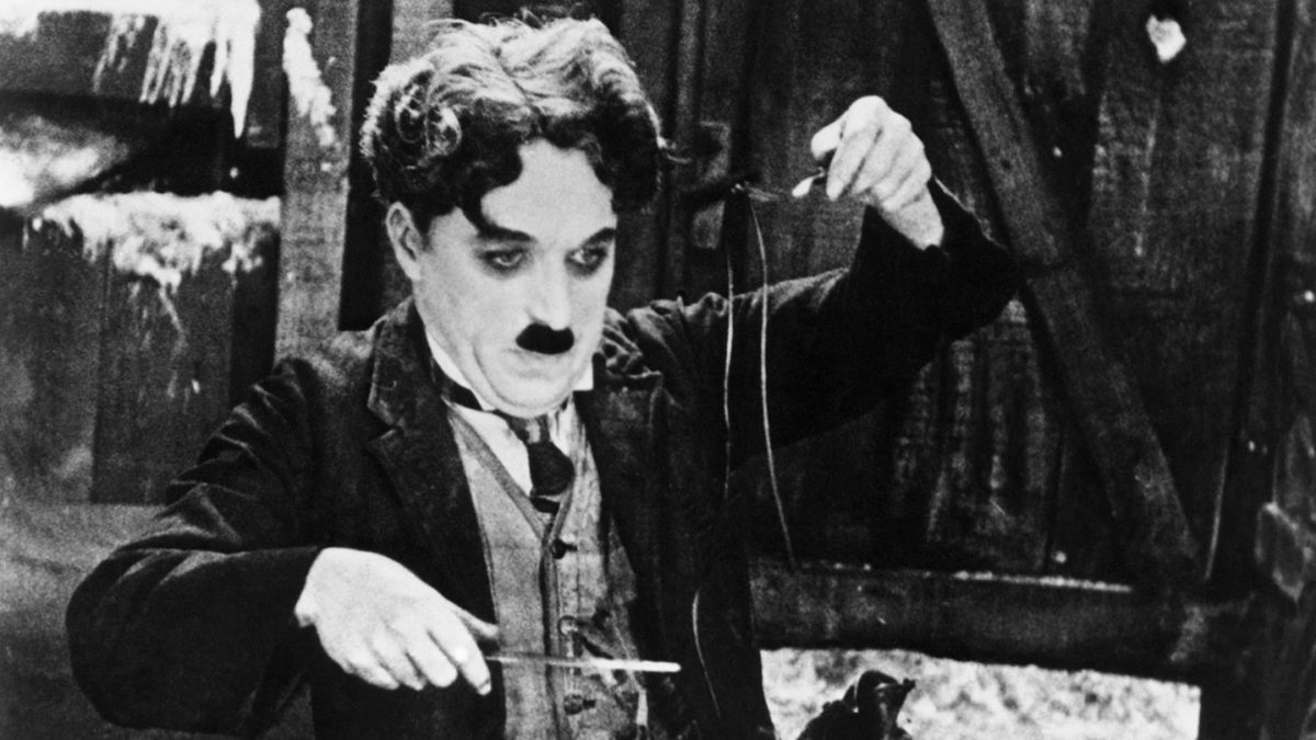 """Charlie Chaplin in """"The Gold Rush"""""""
