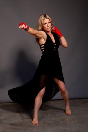 Scarlett Johansson stunt double Heidi Moneymaker boxing