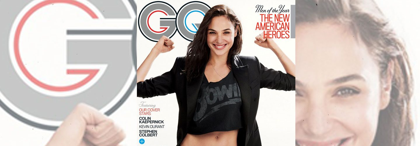 Gal Gadot on GQ Cover. (Twitter)