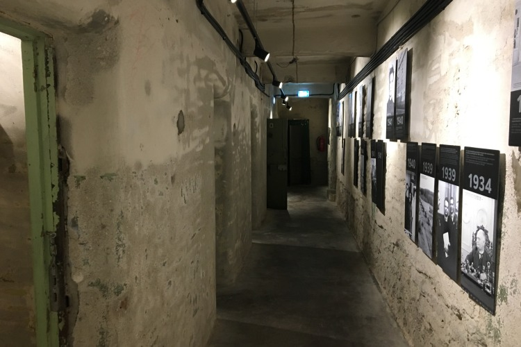 Underground KGB prison and interrogation center