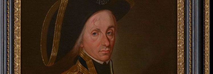 A portrait of Vice-Admiral Horatio Nelson (Philip Mould & Company)