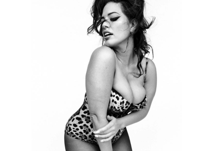 Ashley Graham for Vogue Italia. (Ashley Graham/Vogue Italia/Instagram)