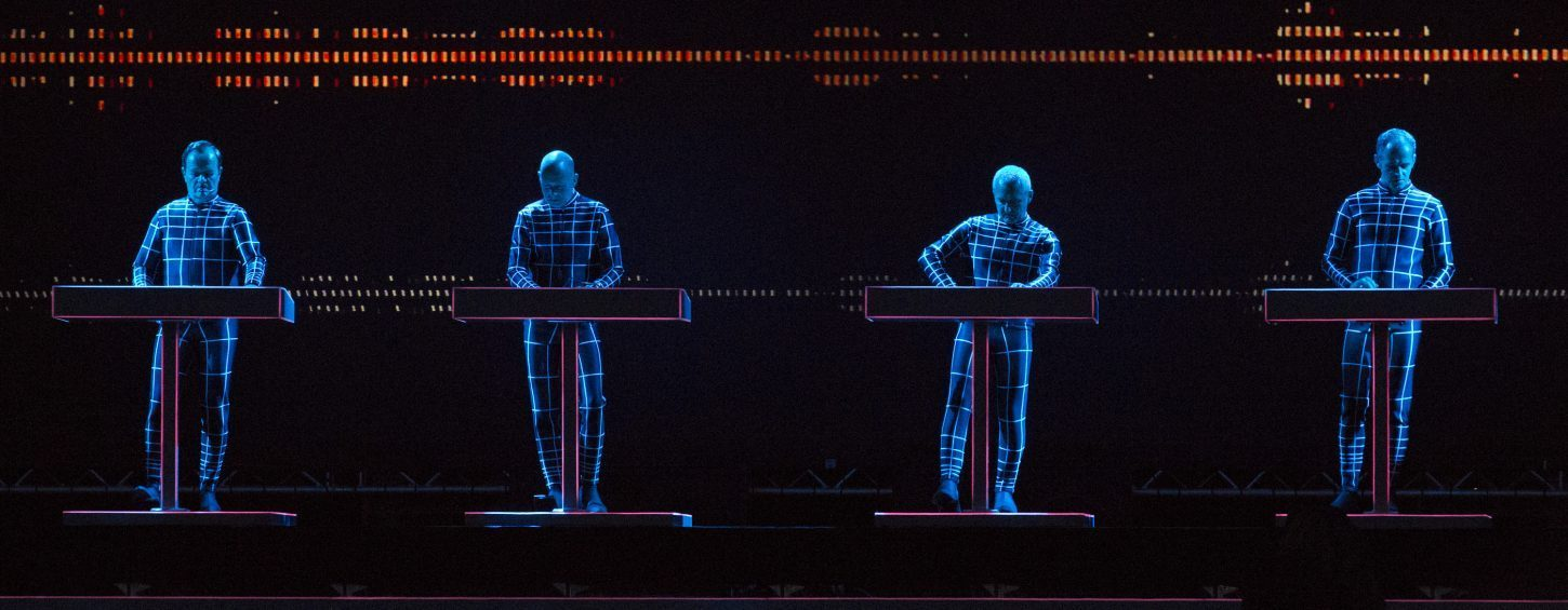 Kraftwerk performs in Oslo. (Photo by Rob Ball/Redferns via Getty Images)