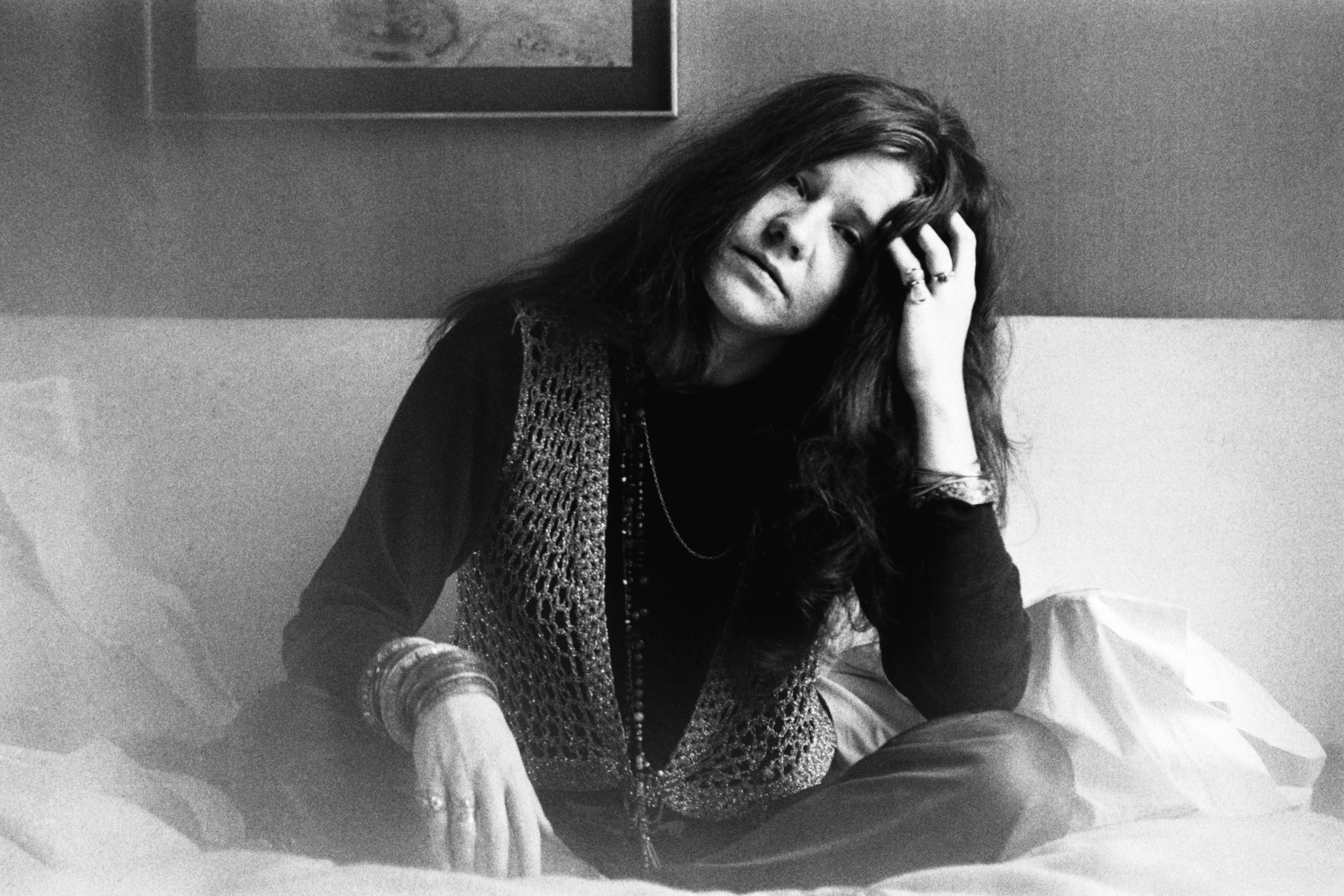 (Original Caption) American singer Janis Joplin, in London, 1969.