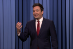 "Jimmy Fallon on ""The Tonight Show."""