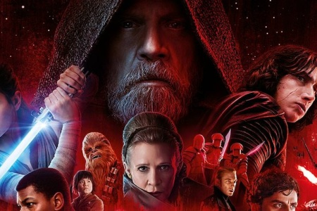 A poster for the new 'Star Wars: The Last Jedi.'