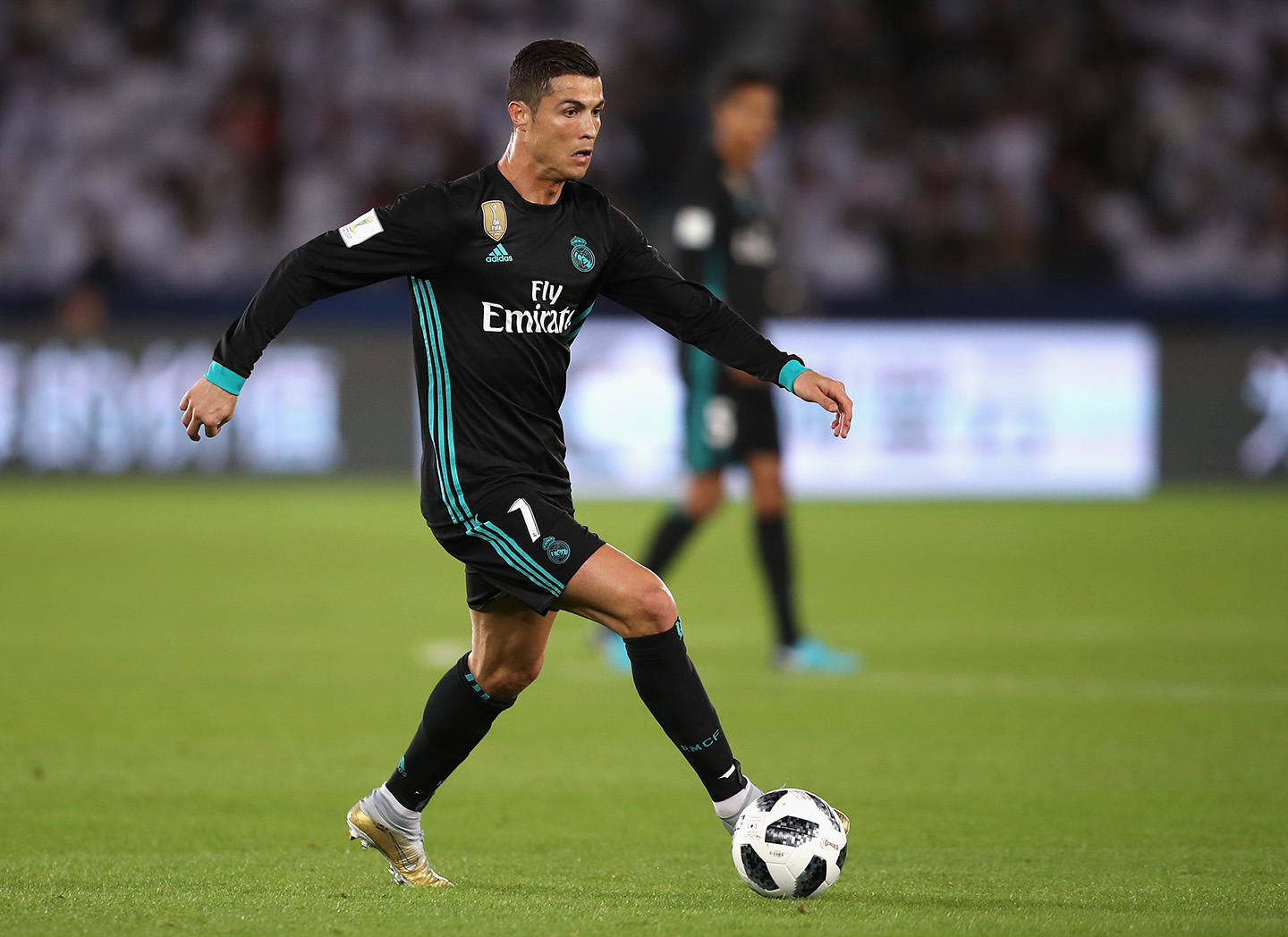 Cristiano Ronaldo is the highest paid athlete in the world. He makes $58 million through salary and winnings and $35 million through endorsements.(Photo by Francois Nel/Getty Images)