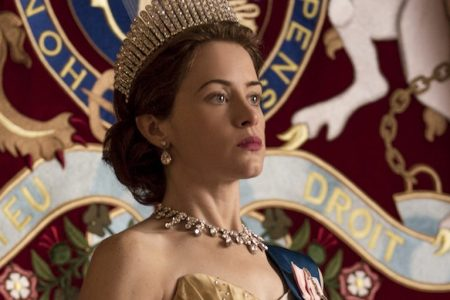 Queen Elizabeth (Claire Foy) in 'The Crown.' (Netflix.)