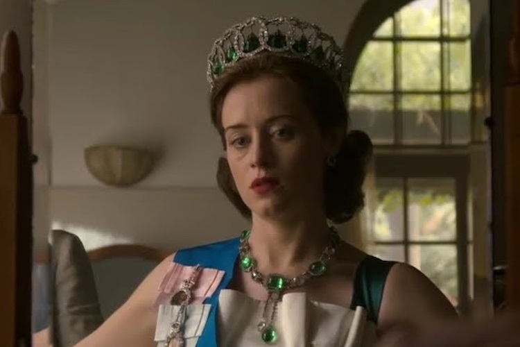 Claire Foy as Queen Elizabeth in 'The Crown.' (Netflix)