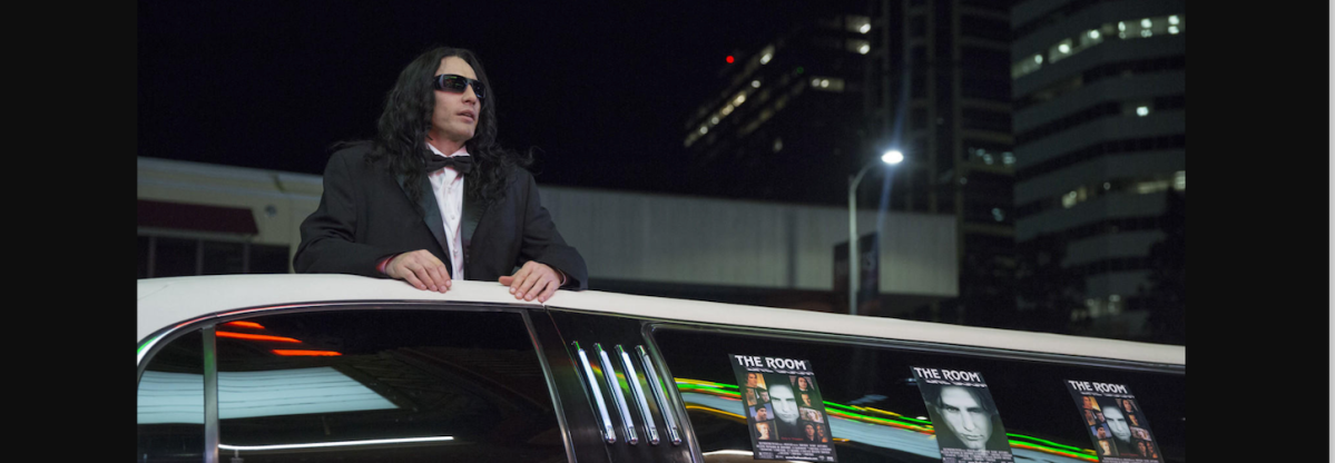 James Franco as Tommy Wiseau in 'The Disaster Artist.' (A24)