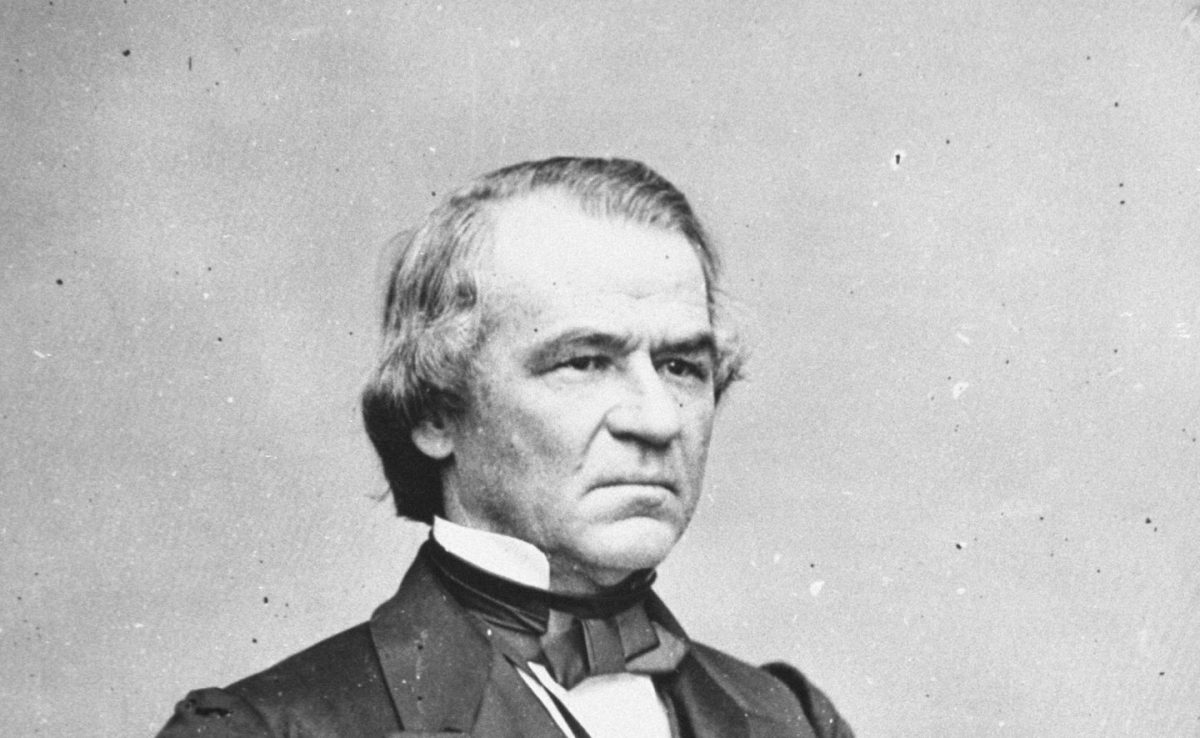 President Andrew Johnson, who assumed the office after Abraham Lincoln's assassination in 1865. (Getty Images)
