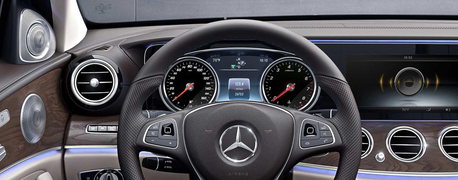 The 2018 Mercedes-Benz E-Class Gets an AI Upgrade - InsideHook