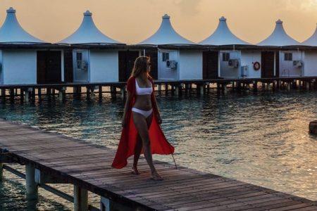 A shot of the Maldives. (Sally Sorte)