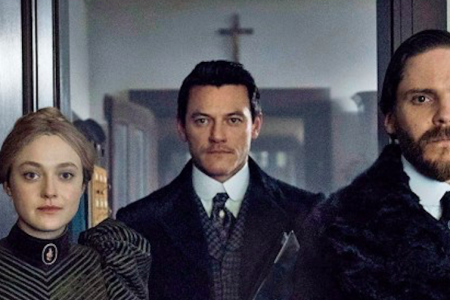 Dakota Fanning, Luke Evans and Daniel Bruhl in 'The Alienist.' (TNT)