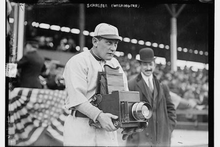 [Germany Schaefer, Washington AL (baseball)] (LOC) Bain News Service,, publisher.   [Germany Schaefer, Washington AL (baseball)]   [1911] (date created or published later by Bain)