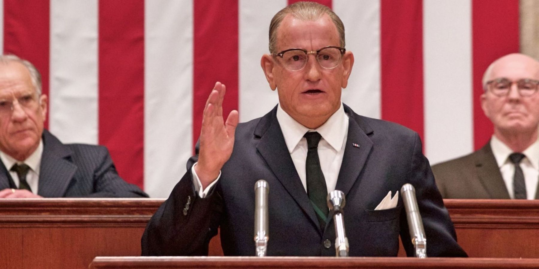 Woody Harrelson as President Lyndon Johnson in 'LBJ.' (Fox Searchlight)
