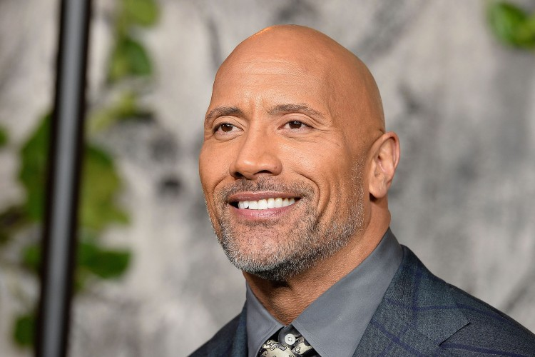 Dwayne Johnson attends the 'Jumanji: Welcome To The Jungle' UK premiere held at Vue West End on December 7, 2017 in London, England.  (Photo by Jeff Spicer/Jeff Spicer/Getty Images)