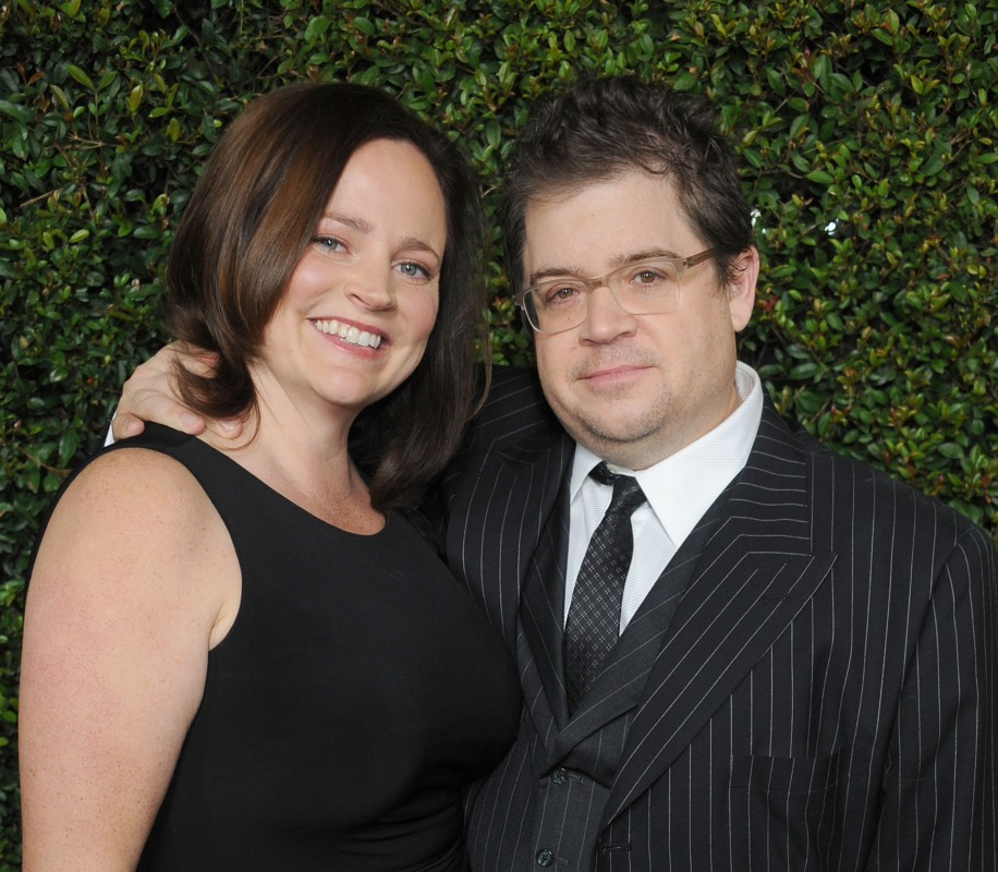 Actor Patton Oswalt and wife Michelle McNamara.  (Photo by Gregg DeGuire/FilmMagic)