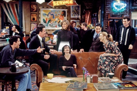 The Friends set is one of the most popular tours at Warner Bros. studio in Burbank, California. (Brian D. McLaughlin/NBC/NBCU Photo Bank via Getty Images)