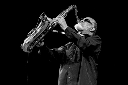 UNITED STATES - AUGUST 08:  Photo of Sonny ROLLINS; performing at the Lincoln Centre  (Photo by David Corio/Redferns)