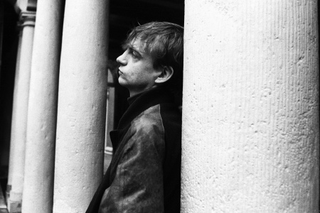 Mark E. Smith of The Fall. (Photo by Lex van Rossen/MAI/Redferns)