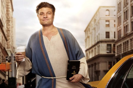 Jay R. Ferguson in 'Living Biblically.' (CBS)