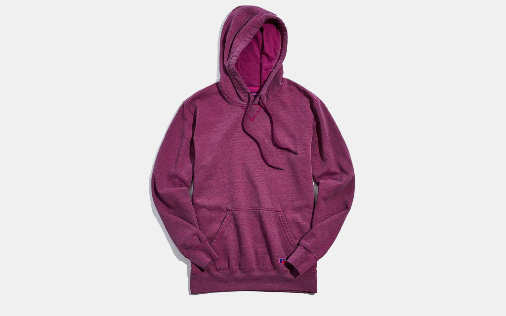 Russell Athletic Overdyed Hoodie Sweatshirt