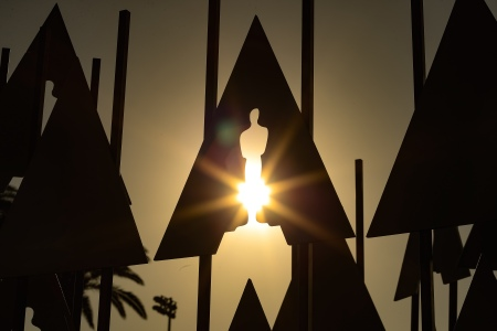 Preparations Continue for this years 90th Oscars on February 28, 2018 in Hollywood, California.  (Christopher Polk/Getty Images)