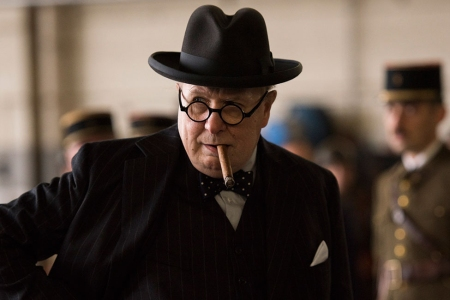 Gary Oldman as Winston Churchill in 'Darkest Hours' (Focus Features)