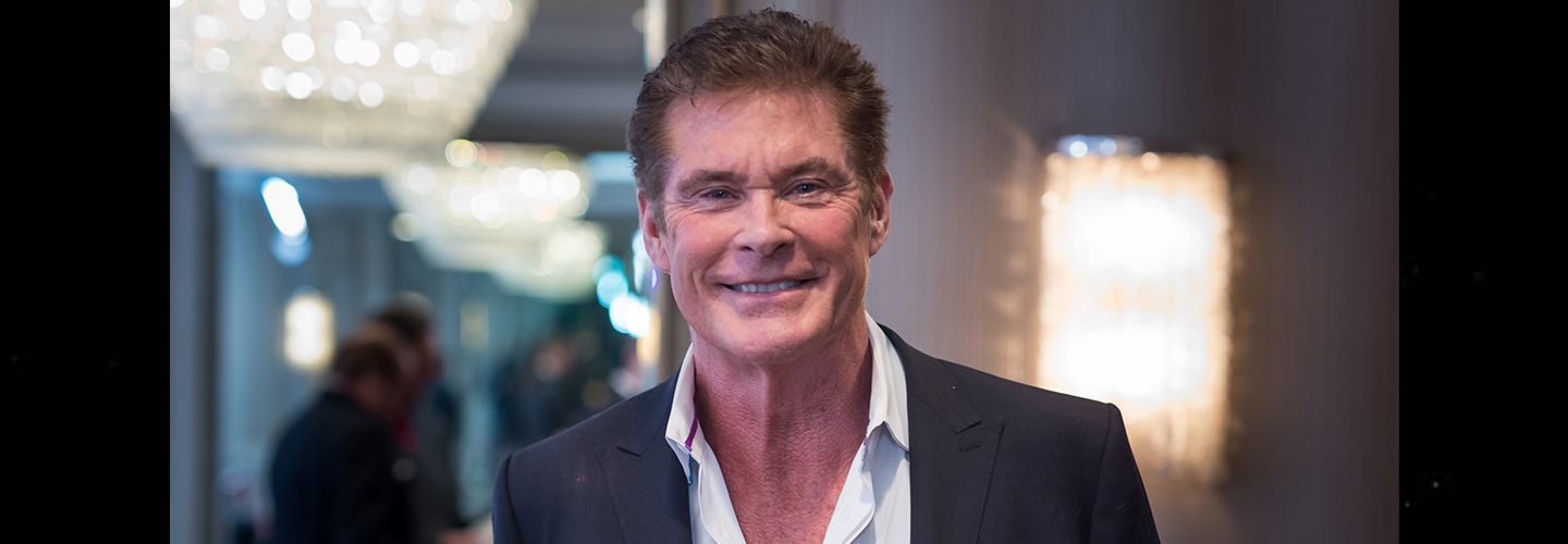 Actor David Hasselhoff attends The Hollywood Radio And Television Society Presents The Newsmaker Luncheon Series: A Moment In Time: Must See TV at the Beverly Wilshire Four Seasons Hotel on February 7, 2017 in Beverly Hills, California.  (Photo by Greg Doherty/Getty Images)