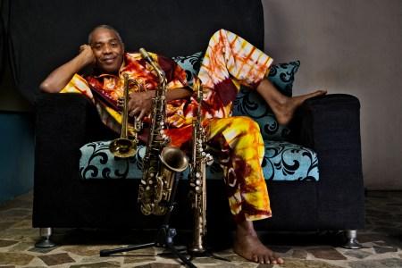 Femi Cuti, Afrobeat performer. (Optimus Danny.)